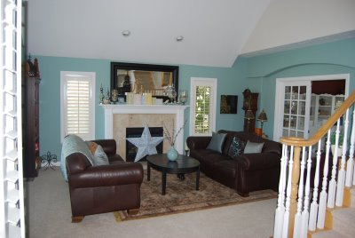 living rooms painted blue interior decorating