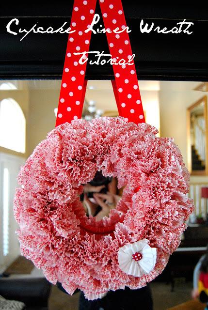 Whimsical Valentine Wreath