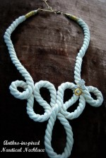 Anthro-inspired Nautical Necklace