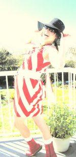 Guest Project — Striped Bias-Cut Ruffle Dress Tutorial