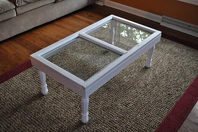 Window Frame Coffee Table Home Ideas