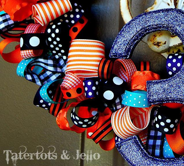 {Happy} Halloween Wreath Tutorial