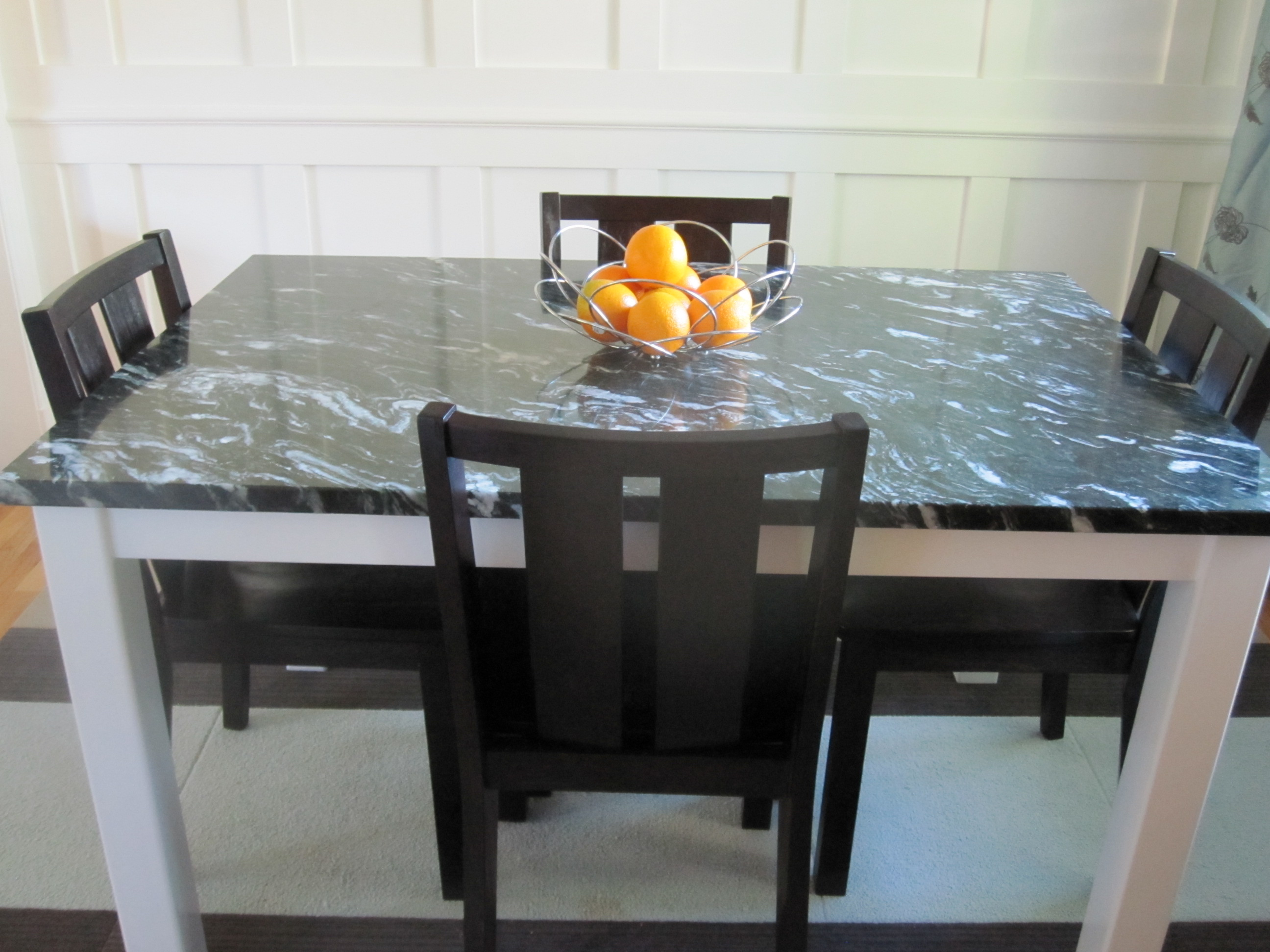 Guest Project Build A DIY Steel And Marble Dining Room Table