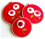 Guest Project — Make a Hanging Fabric Yo-Yo Valentine!!