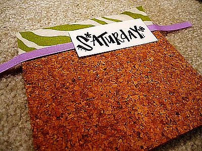Guest Project – Make a beautiful and Functional Cork Board Calendar!