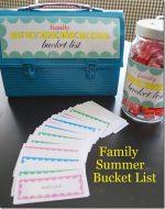 Summertime Activities Bucket List {free printables}