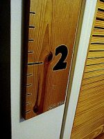 Guest Project — make a DIY Ruler Height Chart!