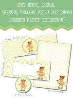 """""""Summer Social"""" Guest Project — Free {Chevron} Summer Party Printables!!"""