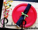 """Summer Social"" Guest Project — Make Pinwheel Placemats!!"