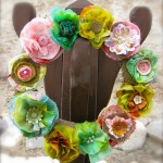 Looking for a New Spin on a Burlap Wreath??