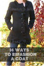 14 Easy Ways to Refashion a Winter Coat!! {tutorial}