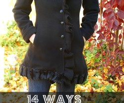 14 ways to refashion a coat header
