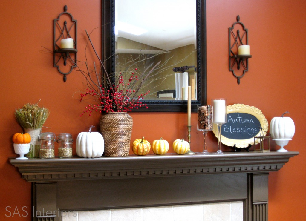 Great Ideas 20 Festive Fall Mantels Tatertots And Jello