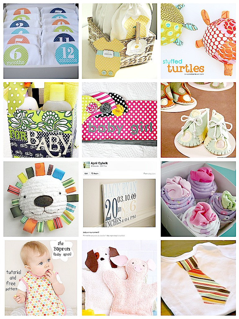 12 DIY Baby Shower Gift Ideas and My Hardest Pregnancy Moment ...