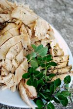 Thanksgiving Turkey with Oil and Herb Marinade {recipe tutorial}