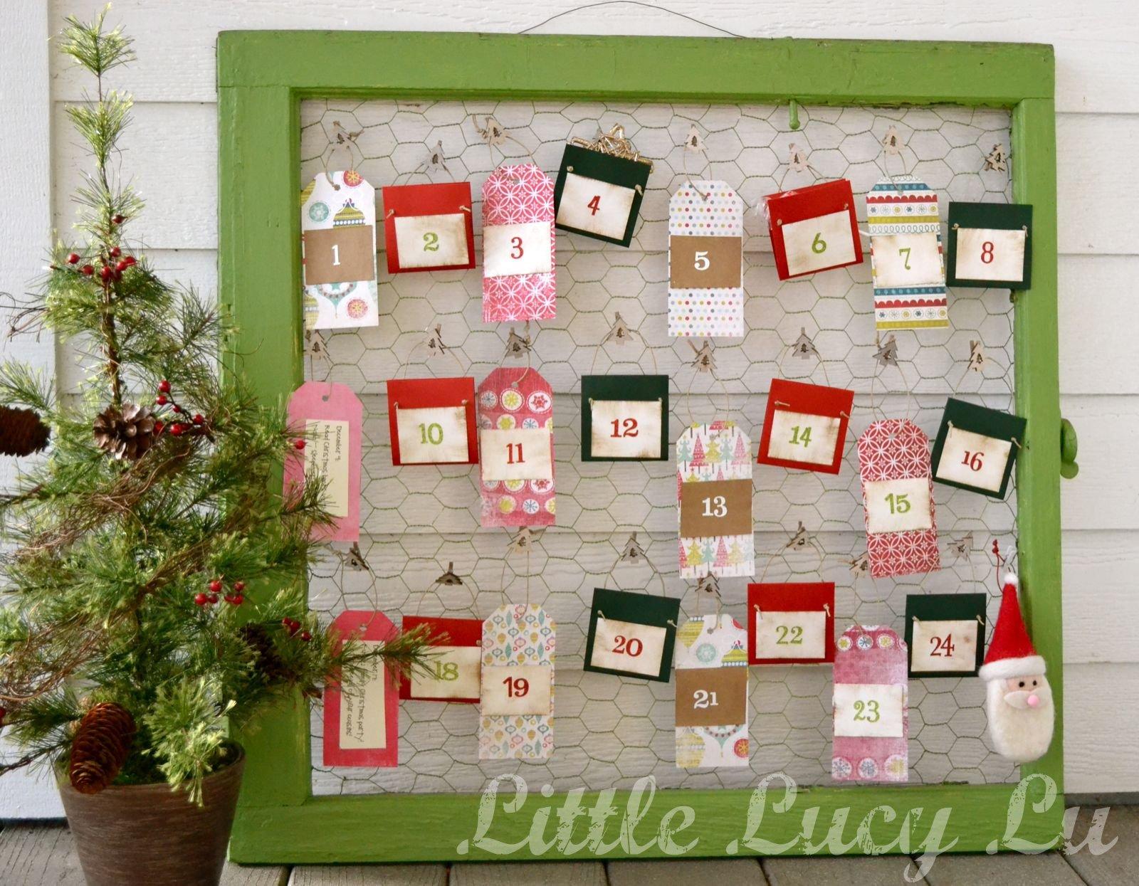 Great Ideas 20 Amazing Holiday Advent Calendars