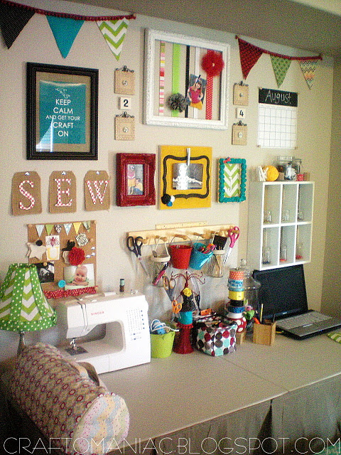 Great ideas best projects of 2011 part 2 tatertots for Setting up a craft room