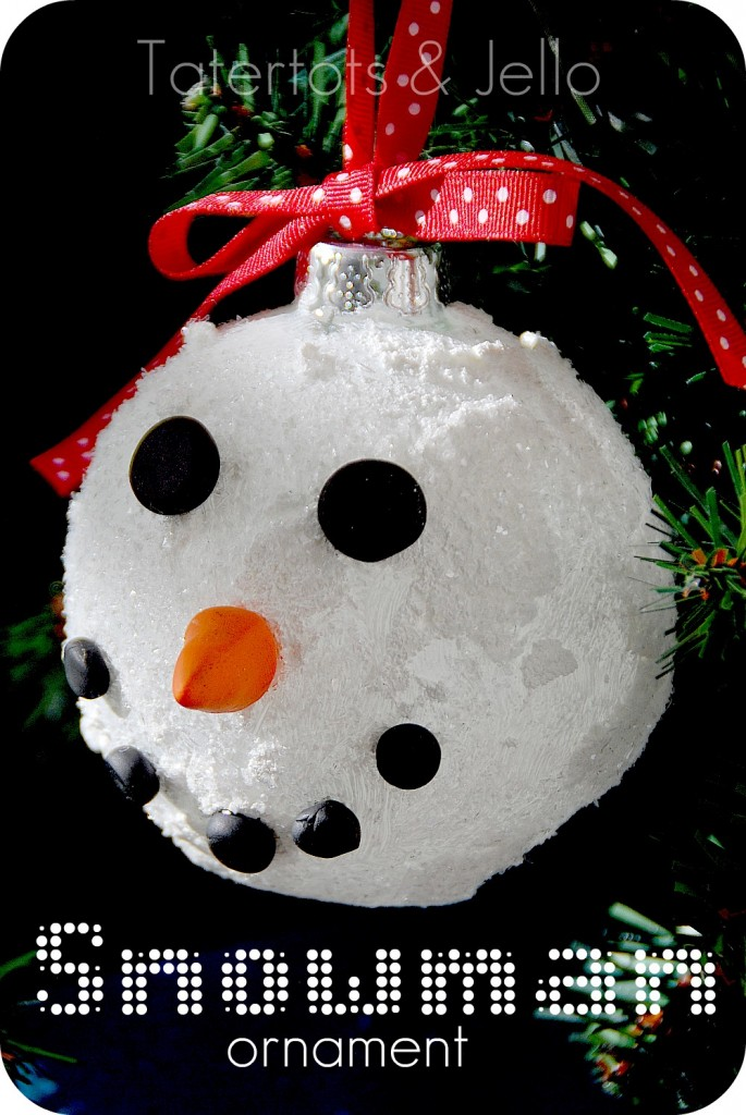 Adorable Snowman Ornaments - Instructables - Make, How To, and DIY