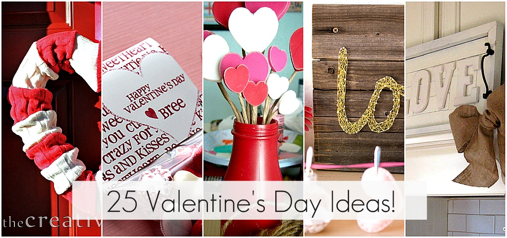 great ideas - 25 valentine's day projects to make! - tatertots and, Ideas