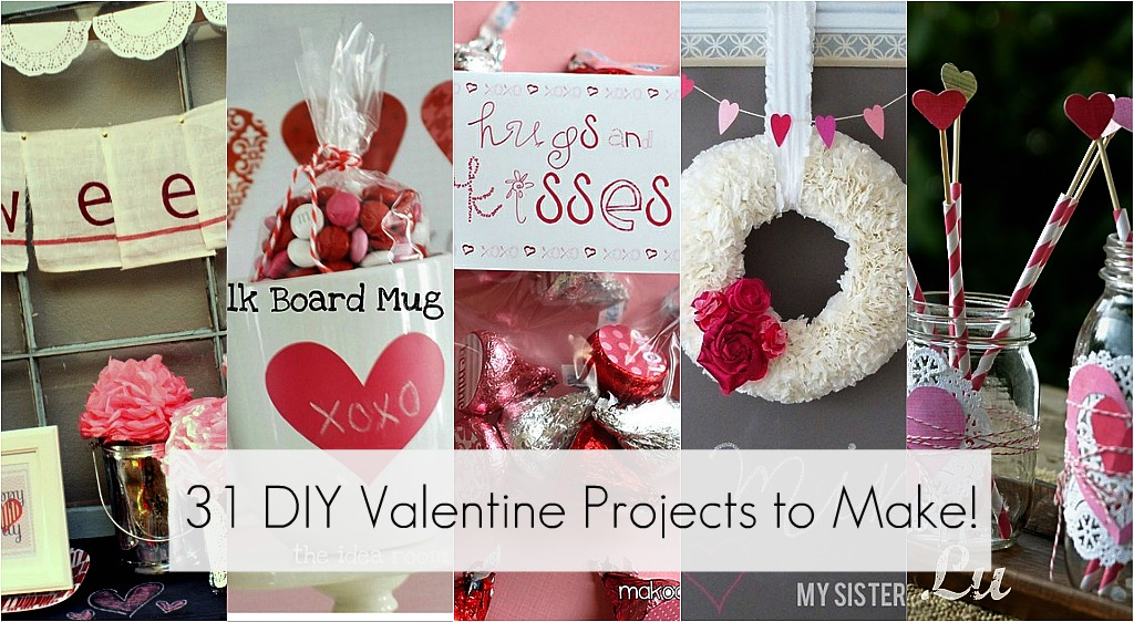 Great Ideas 31 Diy Valentine 39 S Day Projects To Make