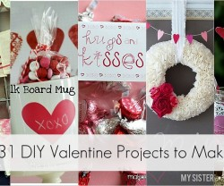 31 DIY Valentine Projects to make