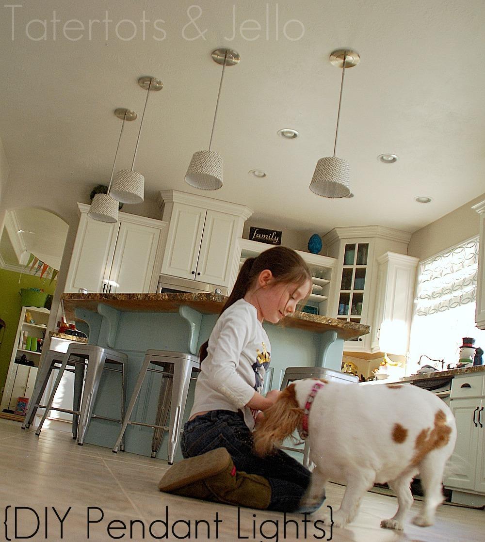 Diy Kitchen Light Fixtures Part 2: Make DIY Pendant Lights (Kitchen Remodel Project