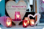Valentine Glitter Mason Jar Tutorial!!