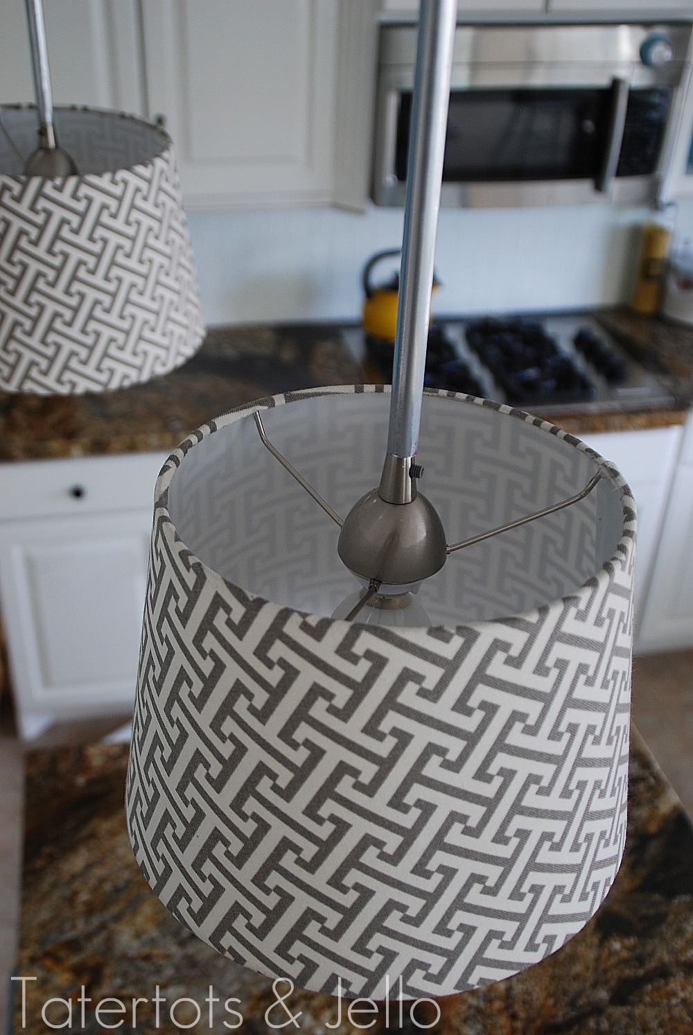 Make diy pendant lights kitchen remodel project for Diy pendant light