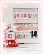 Valentine ♥ Kisses Gift Idea (tutorial)!!