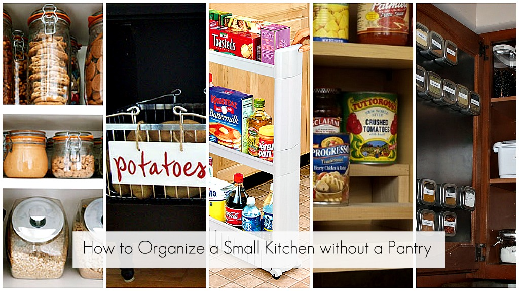organizing a kitchen without a pantry ideas to organize every area in your home 9017