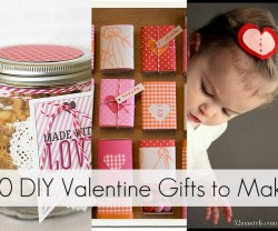 20 diy valentine gifts to make