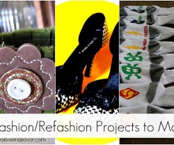 20 fashionRefashion Projects to Make