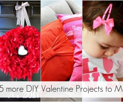 25 more valentine projects to make