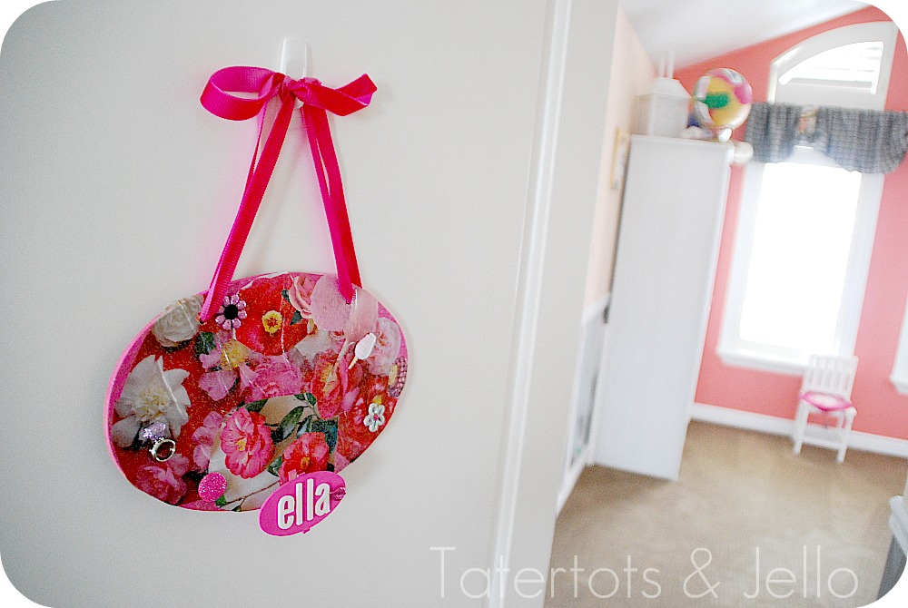 kids craft how to make personalized room plaques