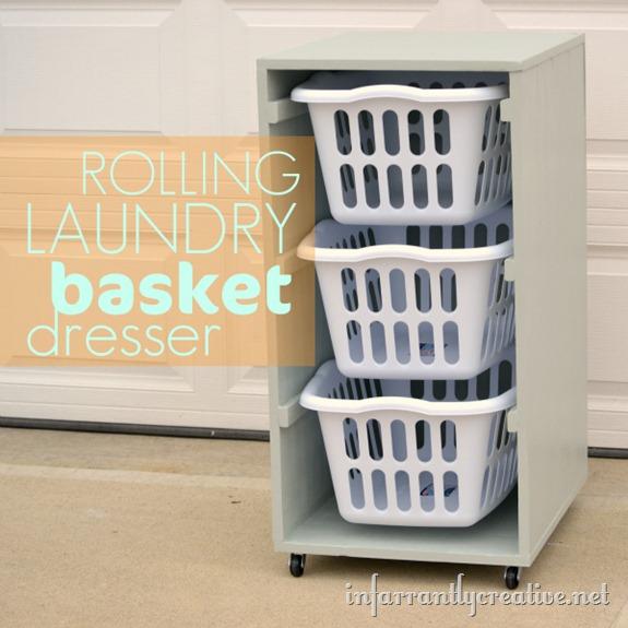 DIY Laundry Room Organization