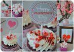 Free Chevron Valentine's Day Party Printables!!