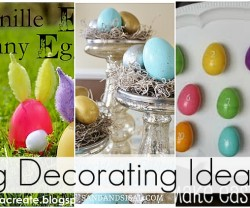 23 egg decorating ideas