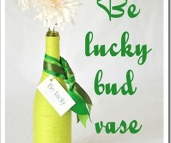 be lucky bud vase craft