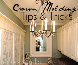 crown molding tips and tricks