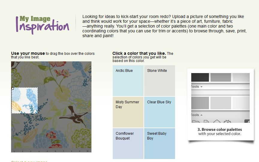 glidden paint palette gliddens image inspiration tool helps you pick the perfect paint