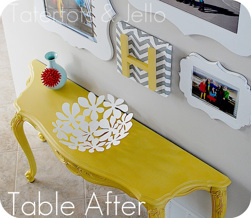 The bright painted furniture movement inspiration picklee for Bright colored side tables