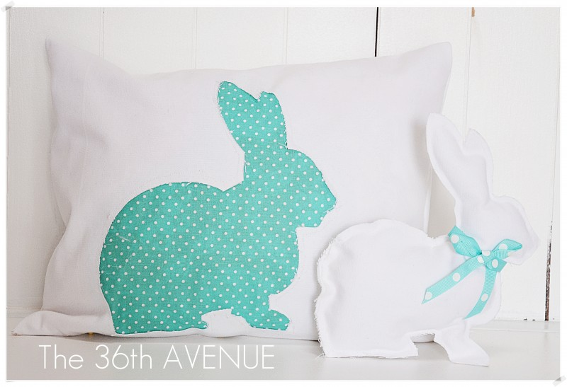 Make a spring bunny pillow negle Image collections