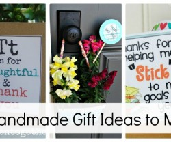 23 handmade gift ideas