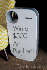 Win a $500 Oreck Air Purifier!!!