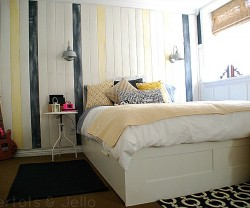 nautical board treatment teen room