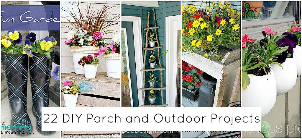 22 ways to spruce up your home for spring and summer for Outdoor decorating ideas for summer