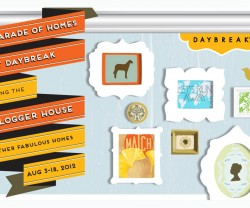 diy blogger house graphic