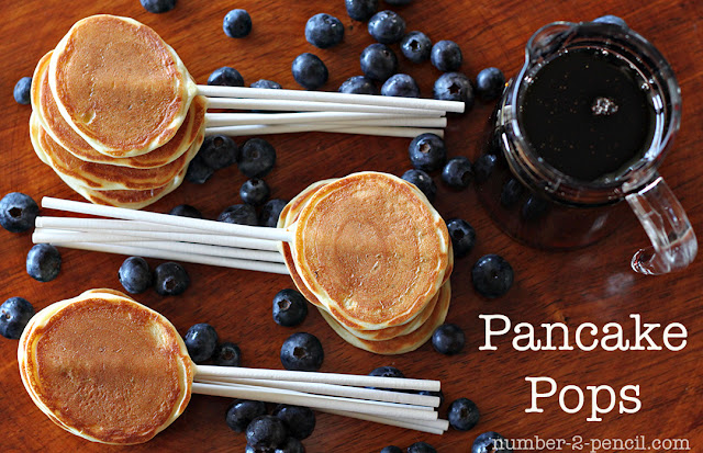 Pancake Party Pops