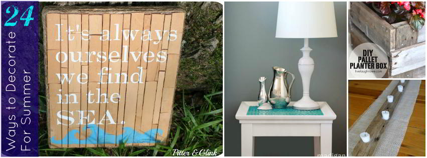 24 Summer Decorating Ideas