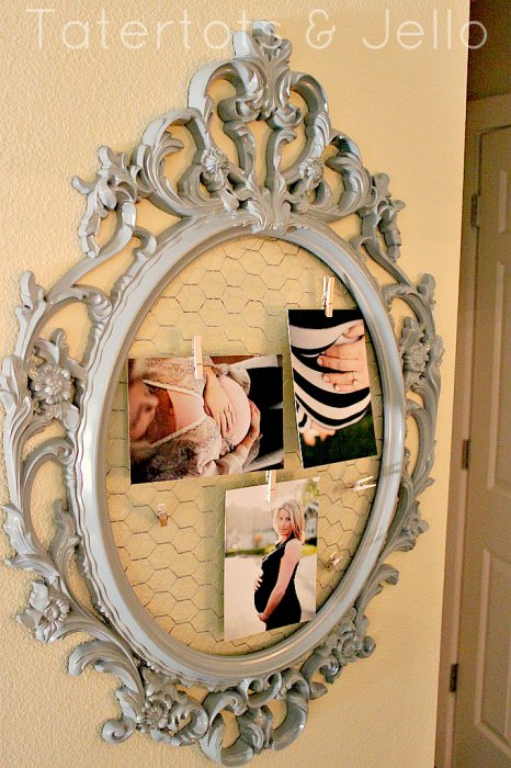 13 ways to personalize the ikea scrolly ung frame for Ung drill mirror
